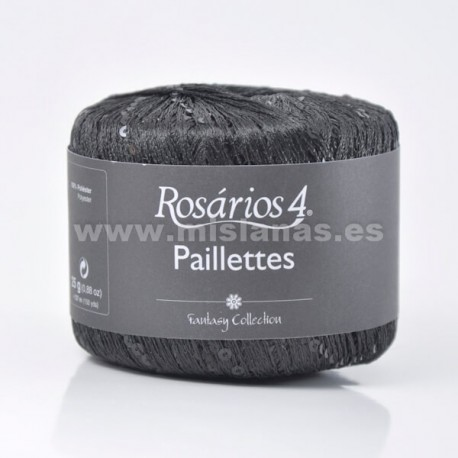 Paillettes R4 - Negro 15