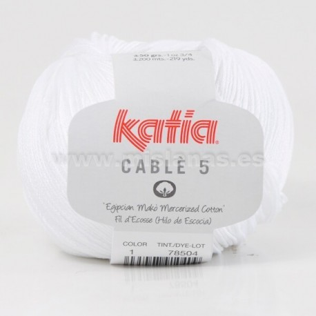Cable 5 Katia - Blanco 1