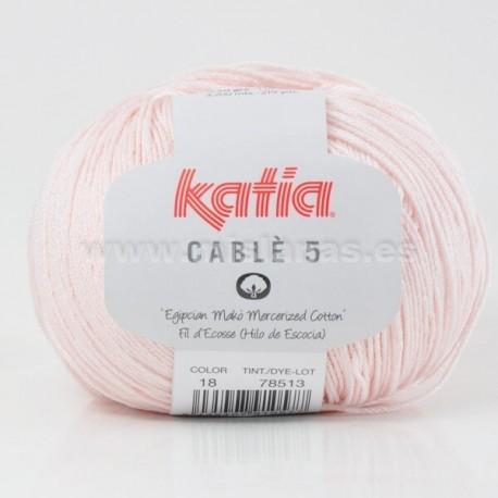 Cable 5 Katia - Rosa Bebe 18