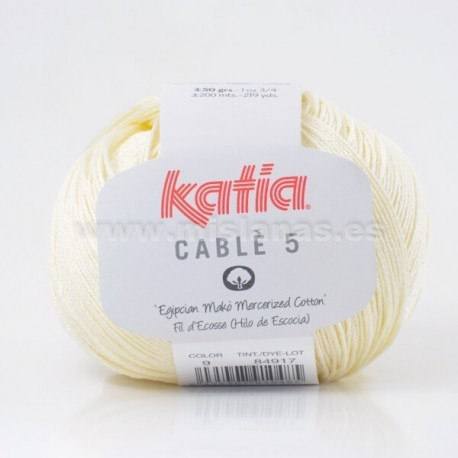Cable 5 Katia - Amarillo Cl.9