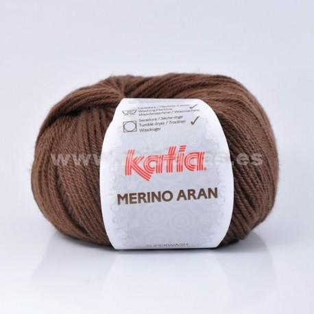 Merino Aran Katia - Marron 46