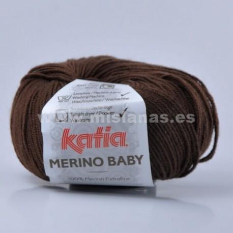 Merino Baby Katia - Marron 21