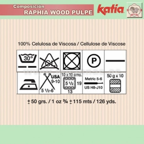 Raphia Katia - Matizado 54