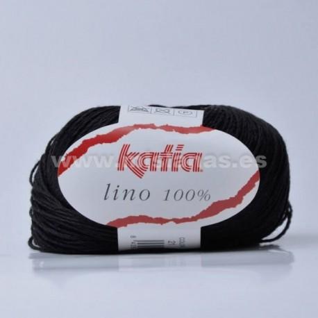 Lino 100% Katia - Negro 21