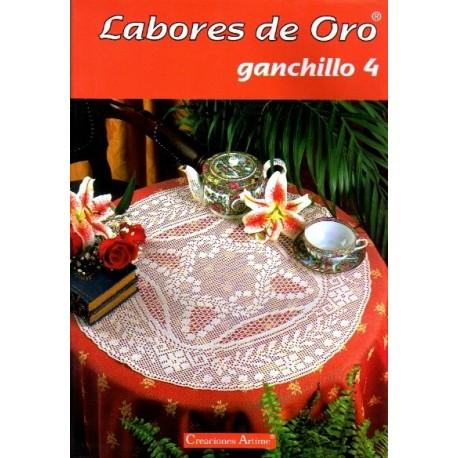 Labores De Oro Mym - Ganchillo 4