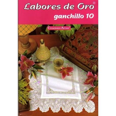 Labores De Oro Mym - Ganchillo 10