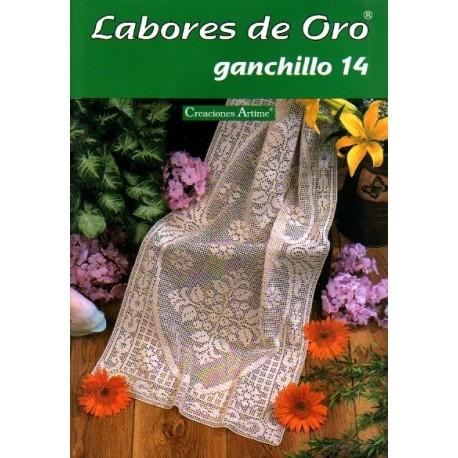 Labores De Oro Mym - Ganchillo 14