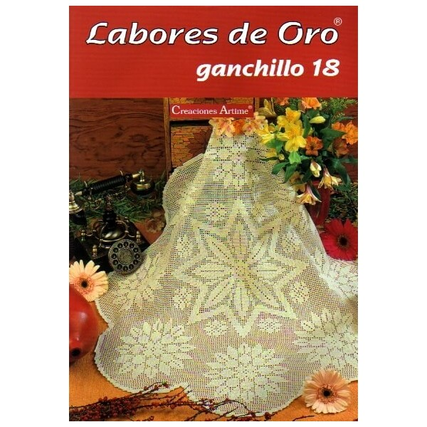 Labores De Oro Mym - Ganchillo 18